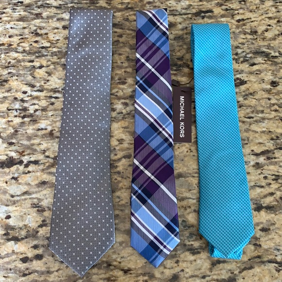 Men's Slim Silk Ties Michael Kors Nordstrom